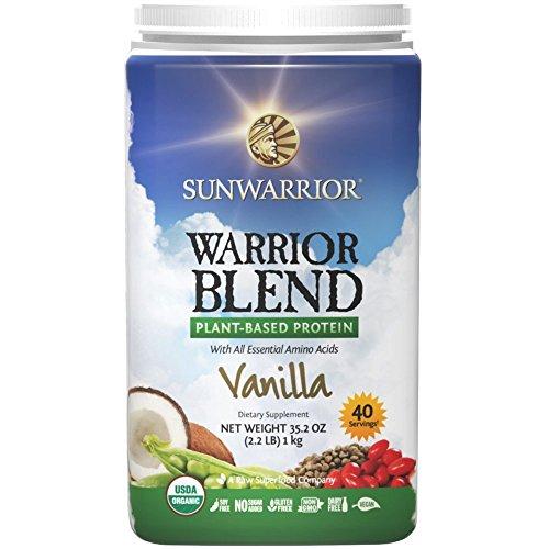 Sunwarrior Warrior Blend Vanille, 1er Pack (1 x 1 kg)