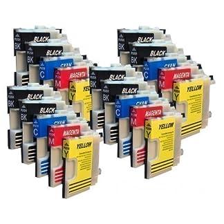 20-Druckerpatronen-fr-Brother-mit-freier-Farbauswahl-LC980-LC1100-DCP-145C-DCP-165C-DCP-185C-DCP-195C-DCP-365CN-DCP-375CW-DCP-385C-DCP-395CN-DCP-585CW-DCP-J715W-DCP-6690CW-MFC-250C-MFC-255CW-MFC-290C-