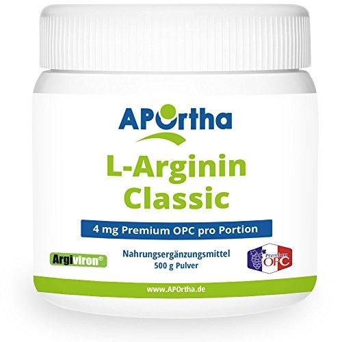 APOrtha® Argiviron® L-Arginin Pulver plus OPC 4 Classic – 500 g