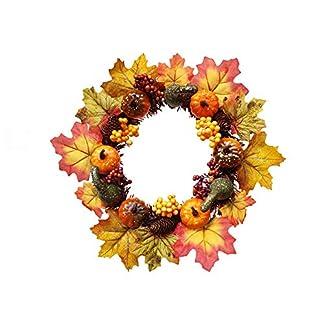 Wankd-Herbst-Kranz-Halloween-Thanksgiving-Herbst-Kranz-Ahornblatt-Krbis-Tr-Fenster-Weihnachten-Dekoration-Rattan-Ring-hngen