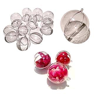 CRYSTAL-KING-10-Stck-Acryl-Kugeln-10-cm-gro-Bastel-Kugeln-Acrylkugel-transparent-teilbar-durchsichtig-Kunstoff-Kugel-Acryl-Acrylic-ball-Acrylkugeln-10mm