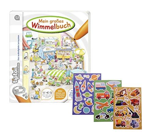 Ravensburger-tiptoi–Mein-groes-Wimmelbuch-Gratis-Kinder-Sticker