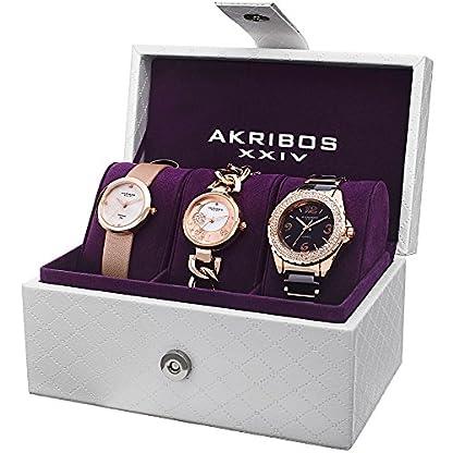 Akribos-XXIV-Set-von-3-uhren-ak766rg
