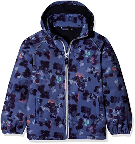NAME IT Mädchen Jacke Nkfalfa Softshell Jkt Flower Fo