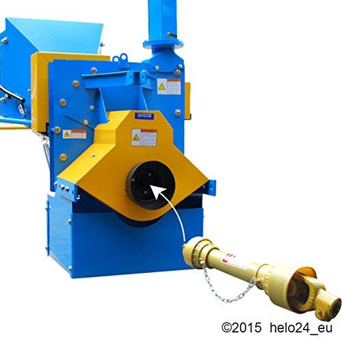 Holzhcksler-Zapfwellenantrieb-inkl-Auswurfverlngerung-und-Zapfwelle