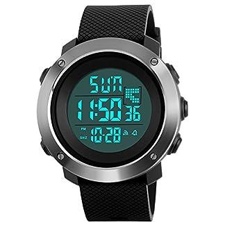 Herren-Jugendliche-Jungen-Digital-Sportuhr-Mnner-Groes-Gesicht-50M-Wasserdicht-Elektronisch-Militr-LED-Digital-Uhr-mit-Stoppuhr-Mnnlich-Multifunktio-Tough-Stofest-Armbanduhr-Schwarz