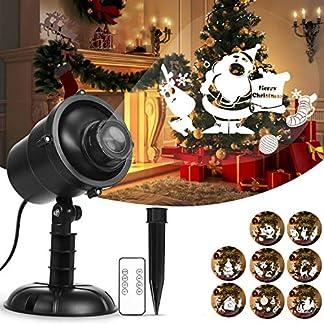 Weihnachtsprojektor-Lichter