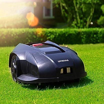 QJJML-Roboter-RasenmHer-Lithium-Elektroantrieb-Intelligente-Automatische-Selbstaufladung-Voll-Intelligente-Rasenkonstruktion-Schwarz