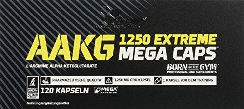 Olimp AAKG Extreme Mega Caps, 120 Kapseln, 1er Pack (1 x 170,4 g)