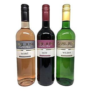 Carl-Jung-Selection-Weinpaket-mit-alkoholfreiem-Wein-3x075l-Roswein-Rotwein-Weisswein-Ros-Rot-Weiss-ohne-Alkohol