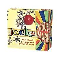 Jacks-Metallsternchen-Flummi-Geschicklichkeit-Kinder-Spielplatz-Spielzeugset