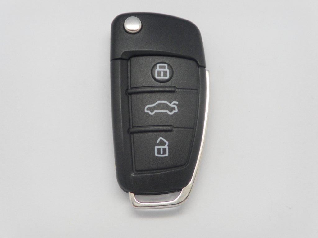 muchkey-Silikon-KFZ-Schlssel-Cover-Case-Skin-Jacket-Fit-fr-Audi-A3-A4-Cabriolet-A6-Allroad-Q7-R8-RS4-S6-TT-3-Knopf-Fernbedienung-Shell-1-New