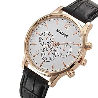 Herren-Uhren-Fashion-Sport-Analog-Quarzuhr-Luxus-Herren-Leder-Klassisch-Geschenk-Armbanduhr-fr-Mnner