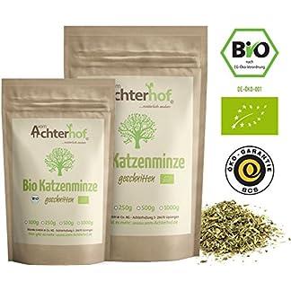 Katzenminze-Bio-getrocknet-100g-Katzenminzekraut-100-ECHTE-Nepeta-cataria-Katzenminzetee
