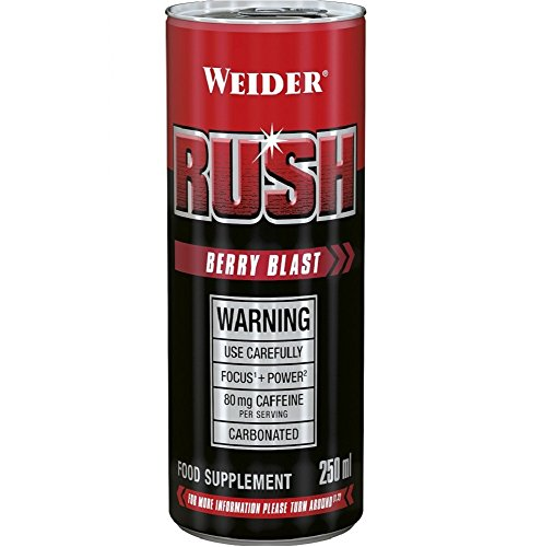 Weider RUSH RTD, Berry Blast, 6000 ml