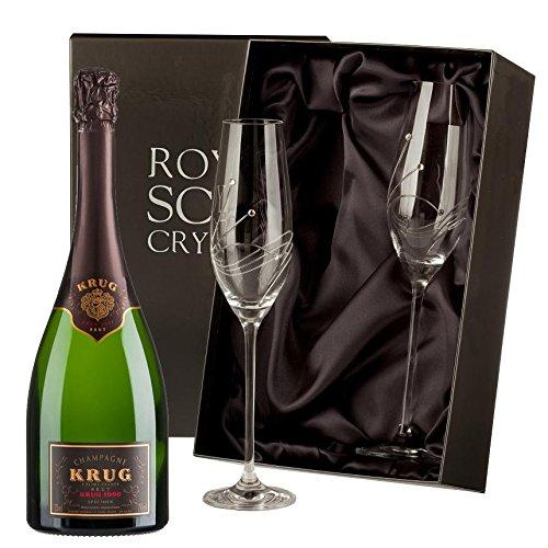 Krug-Vintage-Champagner-mit-Swarovski-Crystal-Flutes