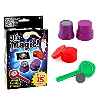 Carry-stone-Premium-Qualitt-Zaubertricks-Set-fr-Kinder-Mysterious-Levitating-Zauberstab-Magic-Cup-Ball-Coin-Tricks-Lernspielzeug