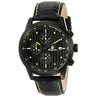 Burgmeister-Armbanduhr-fr-Herren-mit-Analog-Anzeige-Quarz-Uhr-und-Lederarmband-wasserdichte-Herrenuhr-mit-zeitlosem-schickem-Design-Klassische-Uhr-fr-Mnner-Maui
