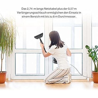 Dampfreiniger-iSiLER-Elektrischer-Dampfreiniger-inkl15-Zubehrteile-350-ml-Wasserbehlter-Handdampfreiniger-fr-Boden-Fenster-bad-Fliesen-Teppiche