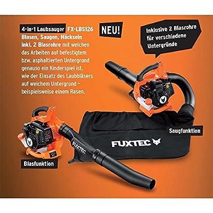 FUXTEC-Benzin-Laubsauger-FX-LBS126-Laubblser-Hcksler-4in1-Funktion-inkl-zwei-Blasrohre-und-Fangsack-getestet-Oberklasse-14