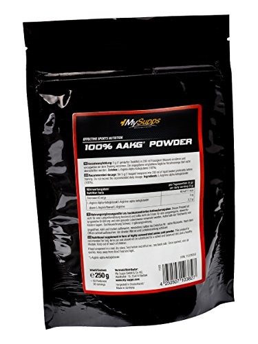 My Supps 100% AAKG Powder