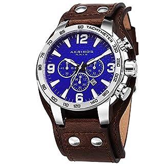 Akribos-XXIV-Herren-Omni-Analog-Japanisches-Quarz-Armbanduhr
