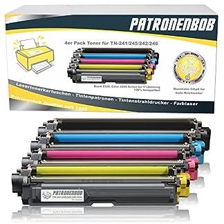 4er-Pack-Patronenbob-XL-Toner-kompatibel-zu-Brother-TN-241-TN-245-fr-Brother-MFC-9142CDN-Brother-DCP-9022CDW-MFC-9342CDW-MFC-9332CDW-HL-3150CDW-HL-3170CDW-TN-241BK-TN-245C-TN-245M-TN-245Y-Schwarz-je-2