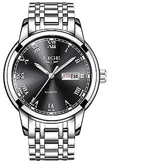 LIGE-Herren-Uhr-Analog-Quarz-mit-Edelstahl-Armband-9846