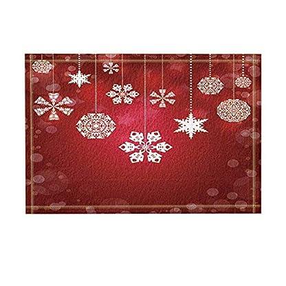 XHWL767-Roter-Hintergrund-weier-transparenter-Fleck-weie-Schneeflocken-und-Kugeln-weie-Schnur-Badzubehr