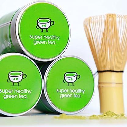 Matcha-Tee-Gruener-Tee-Pulver-100-Organic-Preisgekrnte-Premiumqualitt-Vegan-Extra-feines-Pulver-Ceremonial-Grade