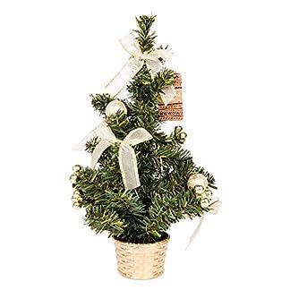 Tallon-Klein-Weihnachten-Schreibtisch-Baum-Rot-oder-Gold