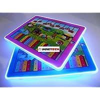 PREMIUM-Interaktives-3D-Tablet-fr-Kinder-Sounds-LED-Beleuchtung-Lerntablet-Spieltablet-Lerncomputer
