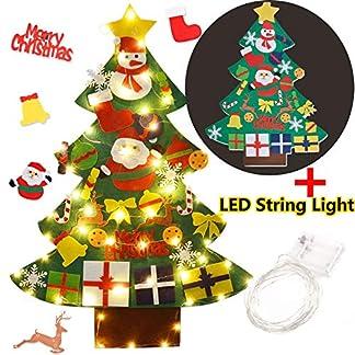 DIY-Filz-Weihnachtsbaum-Funpa-DIY-Weihnachtsbaum-Dekoration-Hngend-Dekor-fr-Kinder-Weihnachten-Geschenk-mit-30PCS-Verzierung-LED-Weihnachtsbaum-DIY