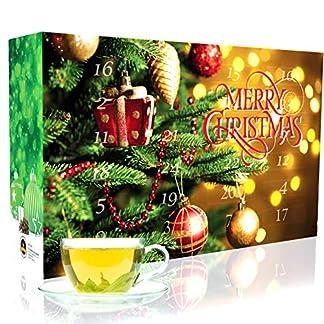 CT-Tee-Adventskalender-2019-mit-24-losen-Grntees-edle-Tee-Sorten–20-g-fr-je-4-Tassen-1-Kanne-in-dekorativem-Kalender-Grner-Tee