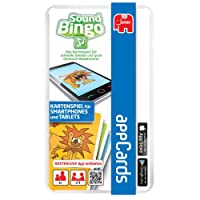 Jumbo-17786-Appcards-Sound-Bingo-Kartenspiel