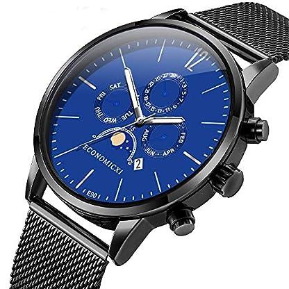 Artife-Herren-Uhr-Armbanduhr-Mnner-Quarz-Armbanduhr-Chronographen-Analog-Quarzuhr-Datumsanzeige-Classic-Business