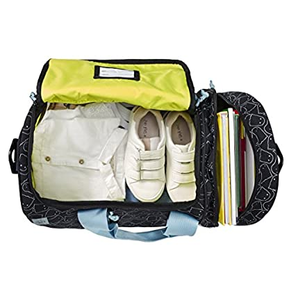 LSSIG-Sporttasche-Kinder-Sportbeutel-mit-UmhngeriemenMini-Sportsbag-Spooky