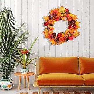 2019-Festlicher-Weihnachtskranz-Knstliche-Blumen-Deko-Kranz-Weihnachts-Dekoration-Anhnger-Girlanden-Weihnachtsdeko-fr-Tr-und-Fenster-Feiertags-Hochzeits-Dekoration