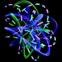 GloFX-Umlaufbahn-Rave-Licht-runde-Kreis-Null-Rassel-6-gefhrt