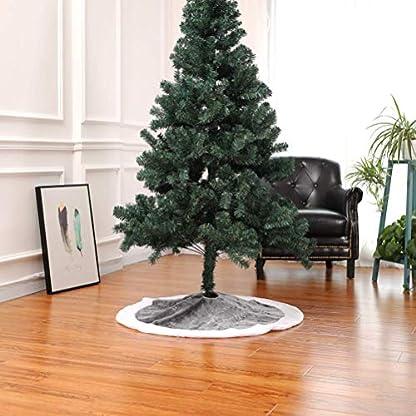 Mars-Jun-Weihnachtsbaum-Rock-graue-Baum-Rock-Matte-fr-Feiertags-Weihnachten-Weihnachtsdekorationen-90cm