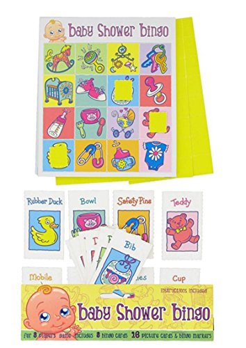 Alandra-Party-Baby-Dusche-Bingo-Spiel