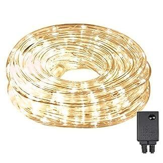 LED-Lichterschlauch-10m-240er-LED-Lichter-mit-8-Modi-Innen-und-Auenbereich-Lauflichter-fr-Saal-Garten-Weihnachten-Hochzeit-Party-WarmweiWei-Lichtschluche