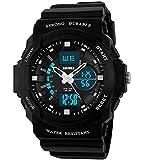 Jungen-Jugendliche-Kinder-Digital-Sportuhr-Multifunktion-50M-Wasserdicht-Elektronisch-Sport-Armbanduhr-mit-LED-Beleuchtung-Stoppuhr-Timer-Wecker-fr-Kinderuhr-Uhren