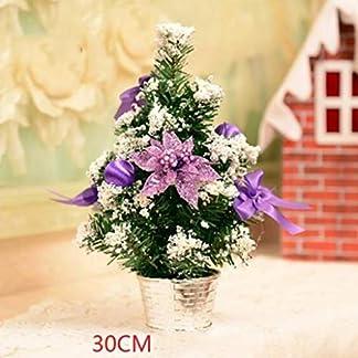 DZWLYX-Baumdecke-Weihnachtsbaum-Rock-Christbaumdecke-Rund-Wei-Weihnachtsbaumdecke-Christbaumstnder-Teppich-Decke-Weihnachtsbaum-Deko-30CM