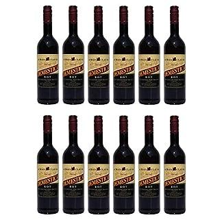 12x-Demestica-je-750-ml-griechischer-Rotwein-trocken-Achaia-Clauss-12-2-Probier-Sachets-Olivenl-aus-Kreta-a-10-ml-griechischer-roter-Wein-