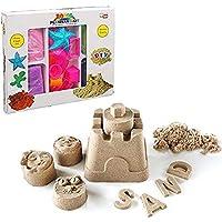 Premium-Set-Kinetischer-Sand-in-3-Farben-12-Sandformen-HUKITECH-Kreatives-Spiel-Kinetics-Basteln-Familienspiel-Lernspiel-Bastelspiel-mit-hohem-Spafaktor-wie-Kroko-doc