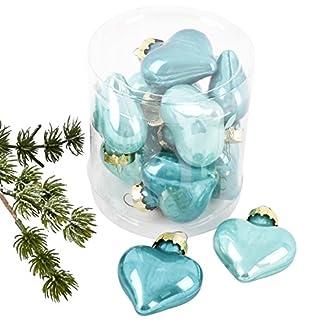 Dadeldo-Living-Lifestyle-Weihnachtskugel-Herz-Premium-10er-Set-Glas-5x4x2cm-Xmas-Baumschmuck