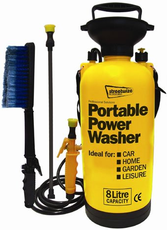 Portable-Power-Washer-Tragbare-Hand-Pump-Hochdruckreiniger