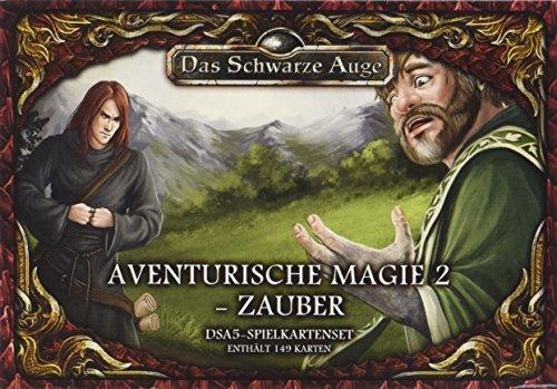 DSA5-Spielkartenset-Aventurische-Magie-2-Zauber-Das-Schwarze-Auge-Zubehr