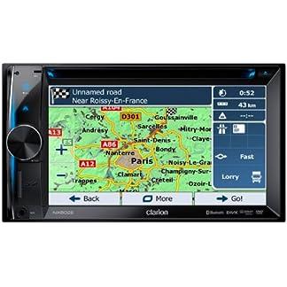 Clarion-NX502E-Navigationssystem-TRK-62-Zoll-Displaystarrer-Monitor-169Kontinent